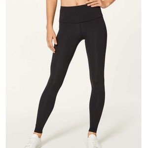 Lululemon Wunder Under Hi Rise Leggings